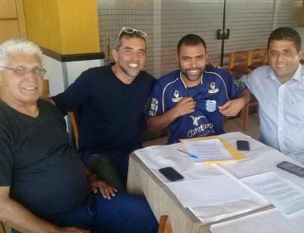 Goytacaz acerta com Marcio Carioca reforço de peso para a próxima temporada (Foto: Assessoria de Imprensa Goytacaz)