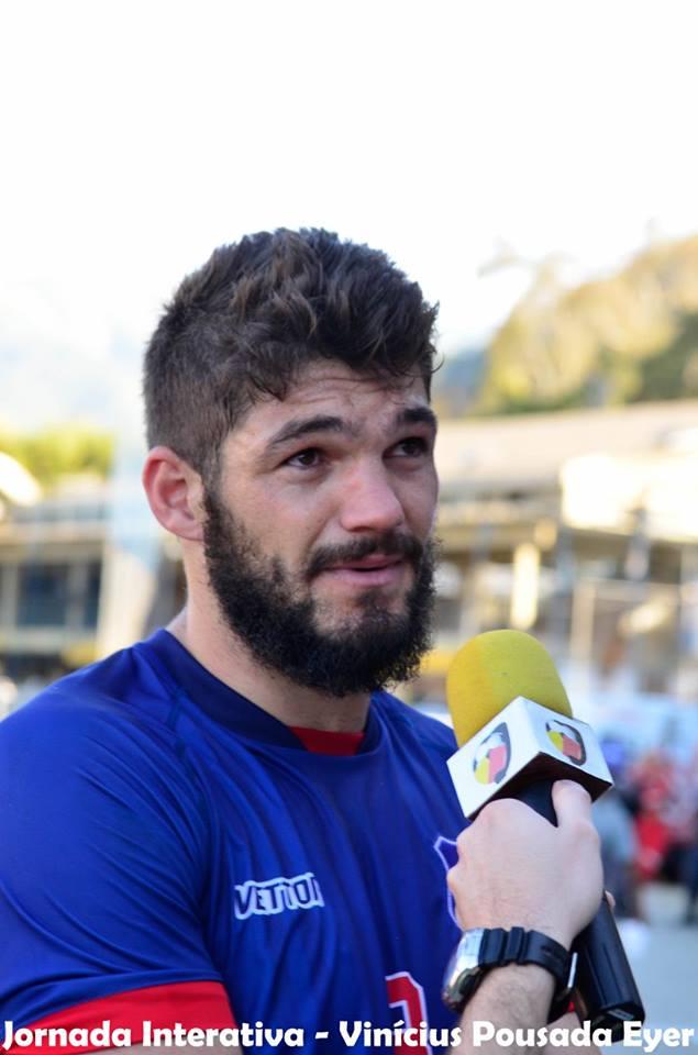 Bruno Leal foi emprestado, mas deve retornar ao Friburguense após a disputa do Campeonato Paulista (Foto: Vinicius Pousada)