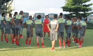 Apresentação de parte do elenco que disputará a Série B1 Estadual e a Copa Rio pelo America (Foto: Marcio Menezes/America Rio)