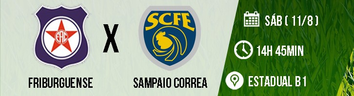 13- FRIBURGUENSE X SAMPAIO CORREA (CORCOVADO)