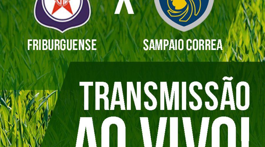 AO VIVO: Friburguense recebe Sampaio Corrêa pela Série B1 Carioca