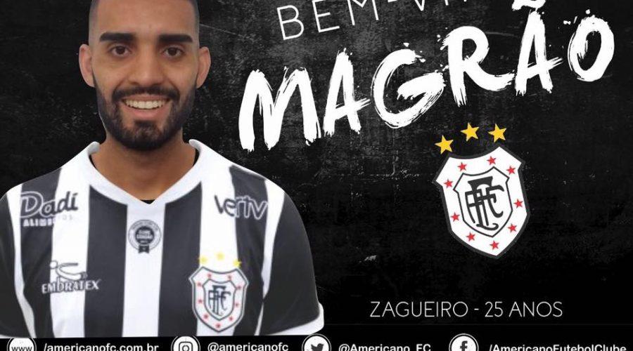 Zagueiro Marcos André é contratado pelo Americano