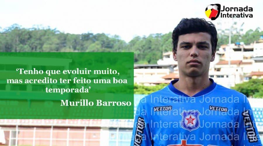 Murillo: 'Tenho que evoluir muito, mas acredito ter feito uma boa temporada'